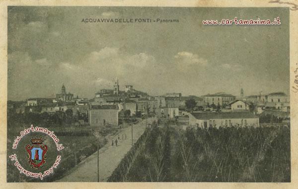 Acquaviva delle fonti panorama da cartolina d 39 epoca for Monolocale arredato acquaviva delle fonti