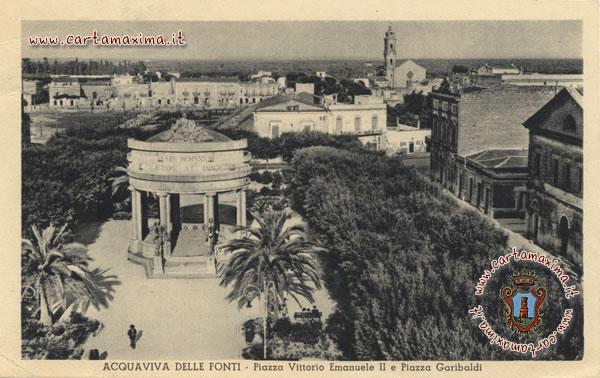 Acquaviva delle fonti piazza vittorio emanuele ii e for Monolocale arredato acquaviva delle fonti